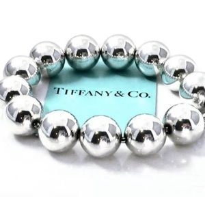 Tiffany & Co. Sterling Silver Beads Balls Bracelet